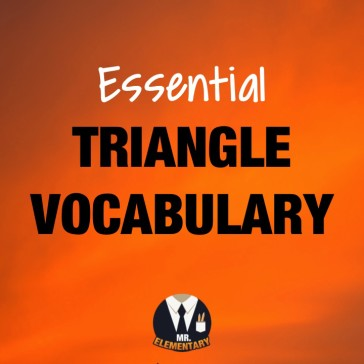 Triangle Vocabulary