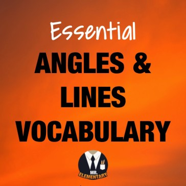 Angles and Lines Vocabulary