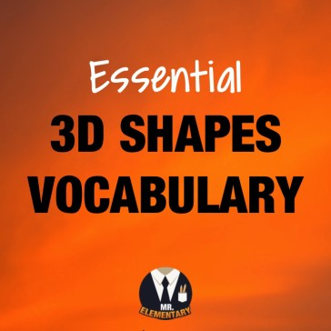 3D Shapes Vocabulary